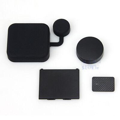 Lens Cap +Replacement Battery Door+Side Door Cover For GoPro Hero 3+ Plus Camera
