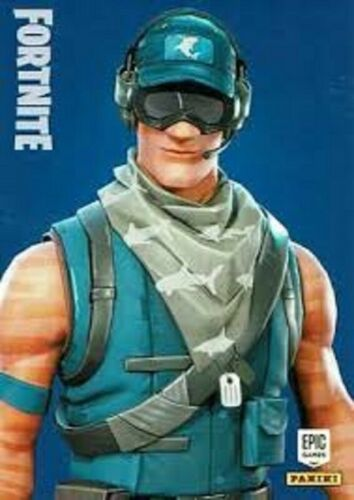 Epic Games Panini. RARE Fortnite Series 1 Trading Cards Outfits Cards