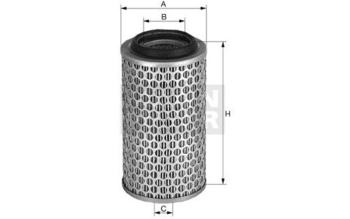 MANN-FILTER Filtro de aire RENAULT LAGUNA ESPACE C 1387