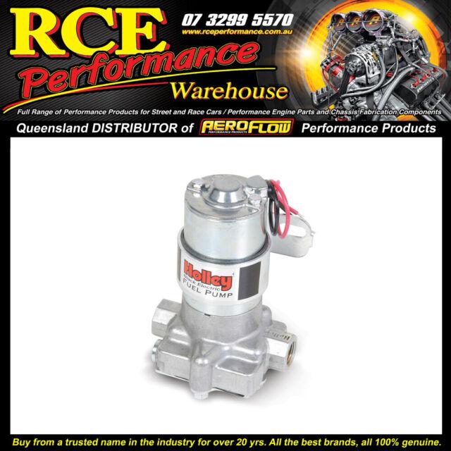 HO 12-815-1 Holley Black Electric Fuel Pump - 120gph@9psi
