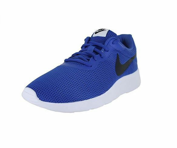 Men's Nike Tanjun Running shoes Game Royal Black-White 812654 404
