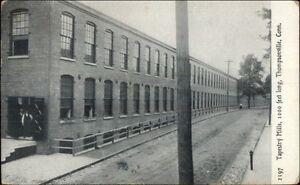 Thompsonville-CT-Tapestry-Mills-c1910-Postcard