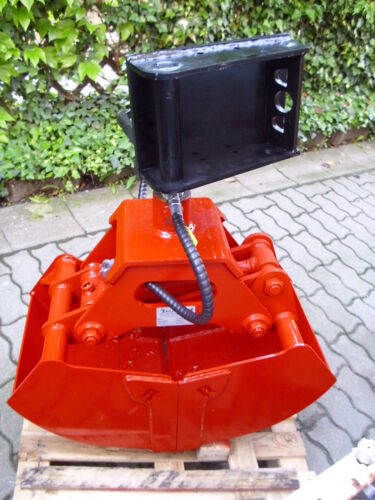 NEU Greifer R41//145 Breite 410 mm ideal für Minibagger Anbaubagger Kran Multicar