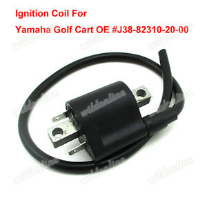 Ignition coil for 4 cycle motors yamaha gas golf cart g2 for G9 yamaha golf cart parts