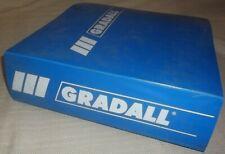 Warner Amp Swasey Gradall G 660 Excavator Operator Service Manual