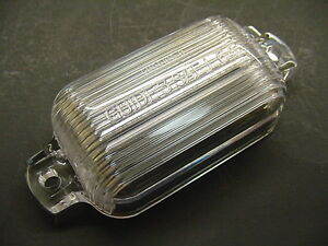1968-1972 Buick Rear Bumper License Plate Lamp Lens GM Light Tag Lense NOS