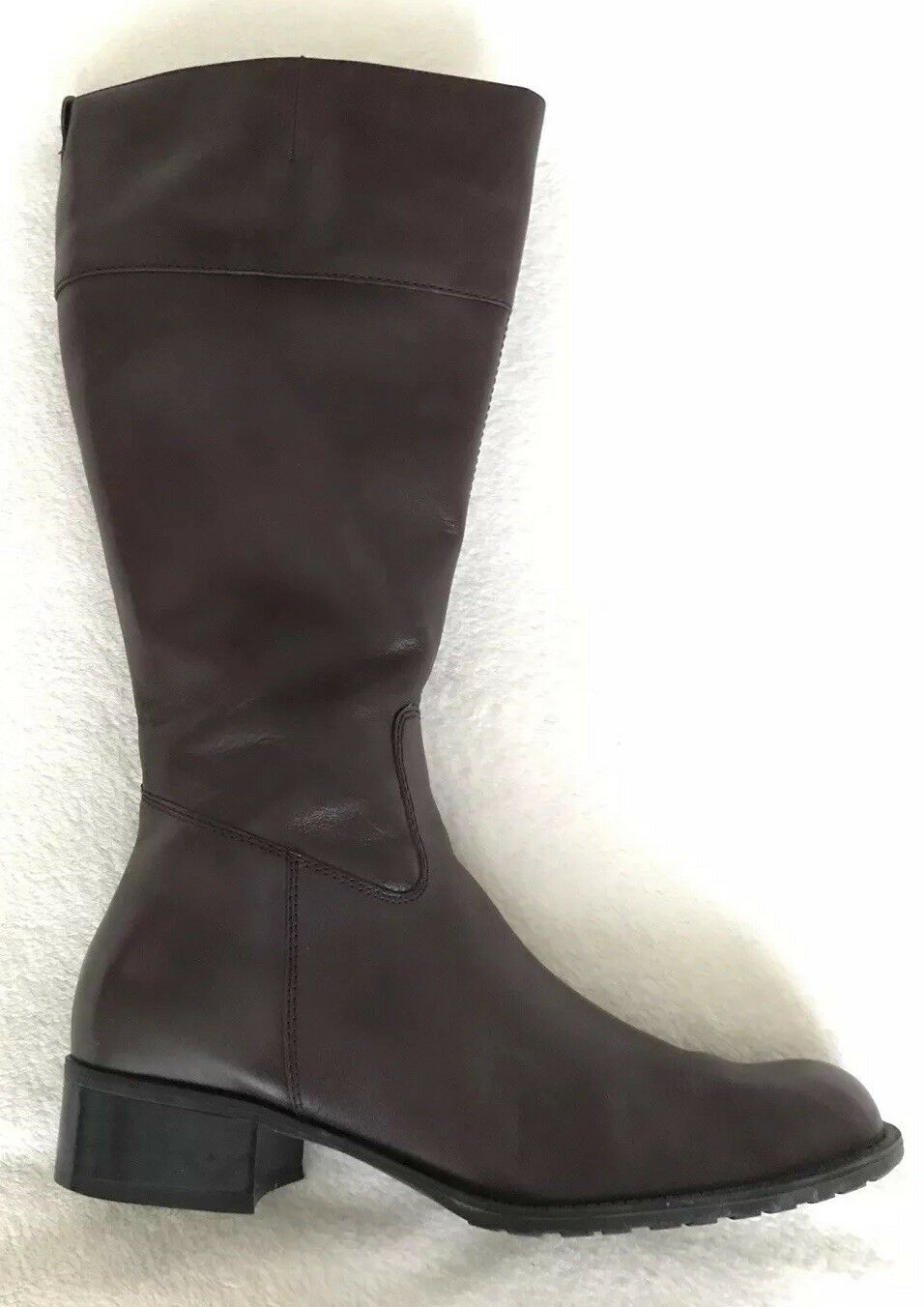 Gorgeous Caravelle Brown Leather Knee Boots UK 7