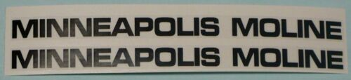 """DECAL for Yellow Pedal Tractor Wagon MINNEAPOLIS-MOLINE Adhesive 4.75/""""  MM923"""