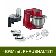 Bosch MUMS2ER01 MUM Serie 2 Küchenmaschine 700W 3,8 l Edelstahl