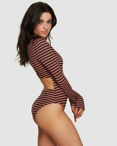 BNWT-BILLABONG-LADIES-SEABREEZE-ONE-PIECE-BODYSUIT-SIZE-MEDIUM-10-RRP-129-99