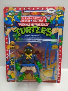 Vintage-TMNT-Kookie-Kavalry-Leo-1992-Mutant-Military-2-See-Pictures-New