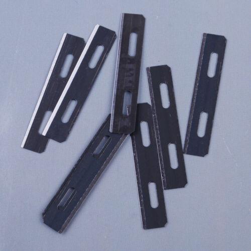 10ST Grau Verdünnung Klinge für Skiver Sicherheit Spitze Maker Lederhandwerk Ly