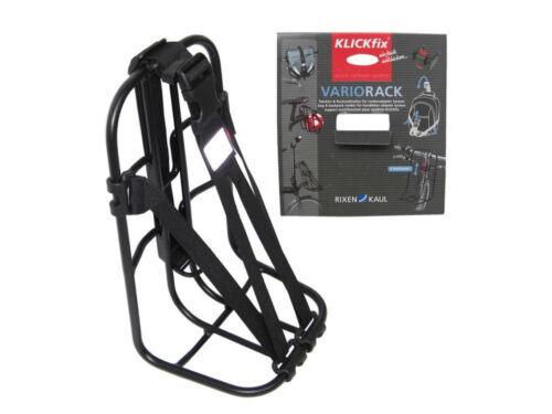 Vélo Universel-Support Vario-Rack Klickfix avec sangle Noir