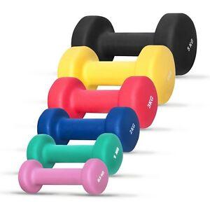 GORILLA SPORTS® Kurzhantel 2er Set Vinyl 1-10 kg Gewichte in 8 Varianten Fitness