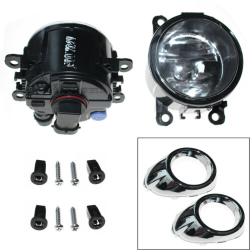 Bulbs For Ford Focus 2012 2013 2014 Clear Lens Driving Fog Lights Bumper Lamps