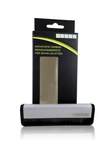 Carbonfaser-Schallplatten-Reinigungsbuerse-Kohlefaser-LP-Antistatik-Buerste