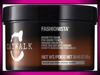 Tigi Catwalk Fashionista Brunette Hair Mask Treatment 20.46 Oz For Warm Tones