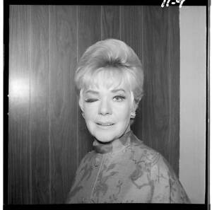 ALICE FAYE The Hollywood Palace 1967 OLD TV PHOTO 1