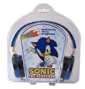 Sonic The Hedgehog Multi Device Stereo Headphones Jazwares New Rare 681326654254 Ebay