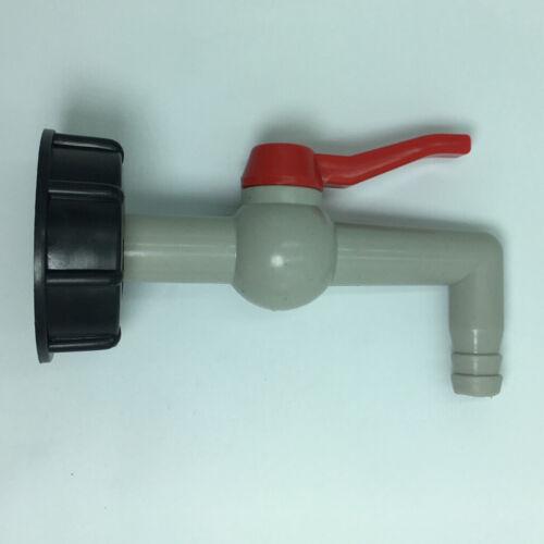 Wasserhahnadapter 1000C ibc 60mm grobe Zähne