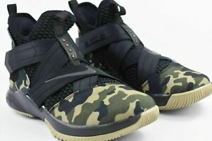 b6ce8350261 Nike Lebron Soldier XII 12 SFG Mens Size 9 Basketball Shoes Camo ...