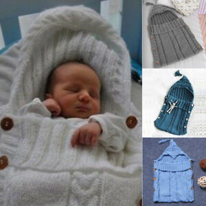 new products 23c25 65c8f Toddler Baby Knitted Buttons Sleeping Blanket Infant Winter ...