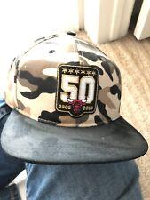 41c3247da83 Chicago Bulls Mitchell   Ness Snapback Hat Cap 50th Anniversary 1966 ...