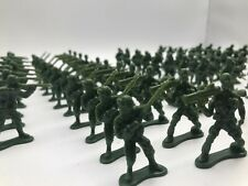 UK Supply 100x Military Plastic Toy WW2 5cm Soldier Army Men Figure Model VE Day
