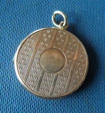 RARE Edwardan  9ct Rose Gold Opening Pendant Locket h/m 1910 Chester