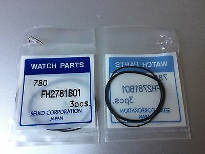 see list Seiko Caseback Gasket Bodendichtung FH2781B01 for many models