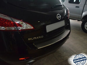 NISSAN-MURANO-Z51-2009-2014-Rear-Bumper-Profiled-Protector-Stainless-Steel-Cover