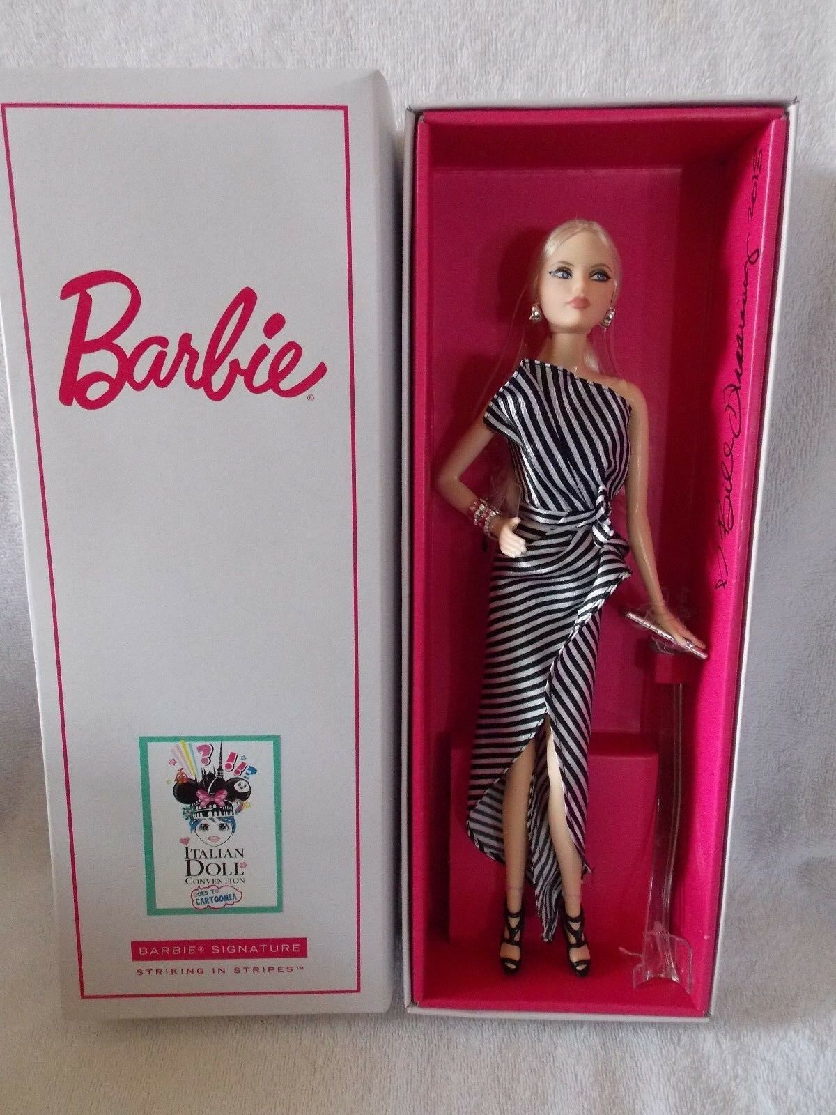 Convenio de muñeca Barbie Muñeca italiano de 2018