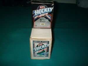 1990-91-UPPER-DECK-HOCKEY-SET-550-CARDS-7-00-shipping-in-U-S-A