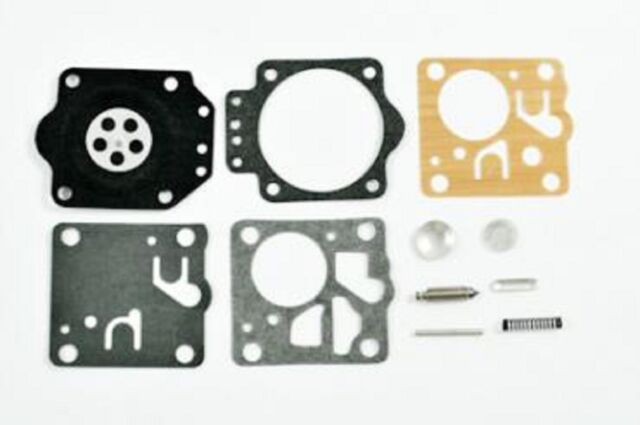 HOMELITE XL-12 McCULLOCH SP81 CARBURETOR CARB REBUILD KIT ZAMA RB-15  C2-20-01