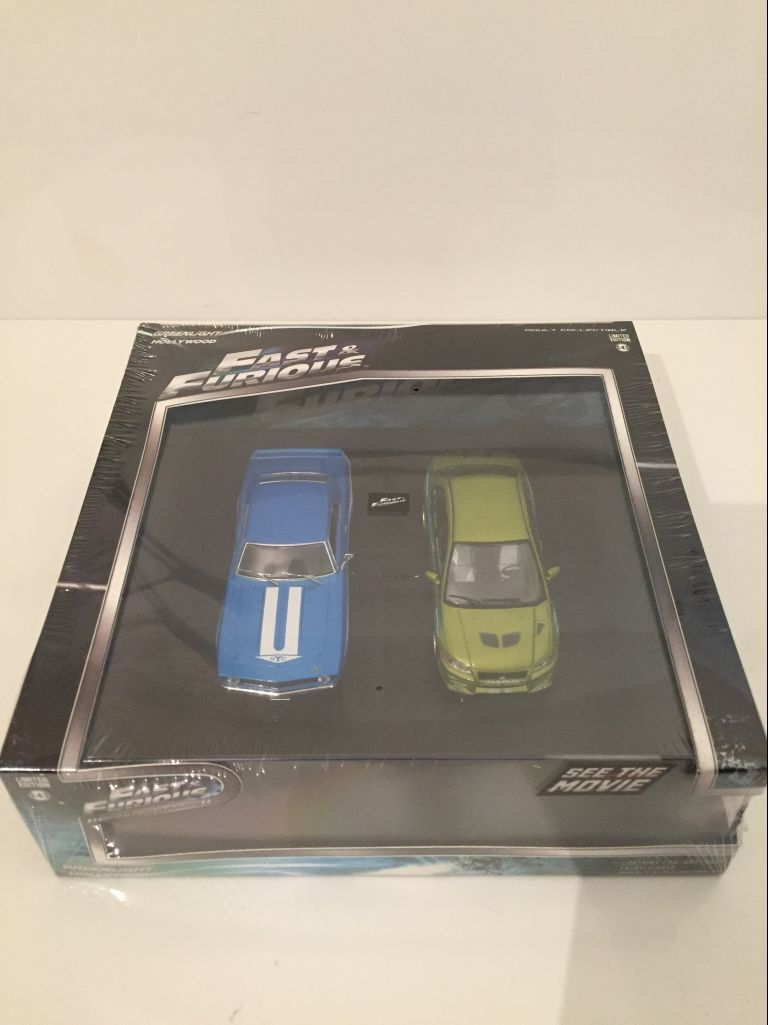 2 Fast & 2 Furious Twin Set Camaro Yenko and Lancer Greenlight