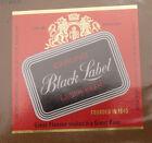 VINTAGE CANADIAN BEER LABEL - CARLING BREWERY, BLACK LABEL LAGER #3