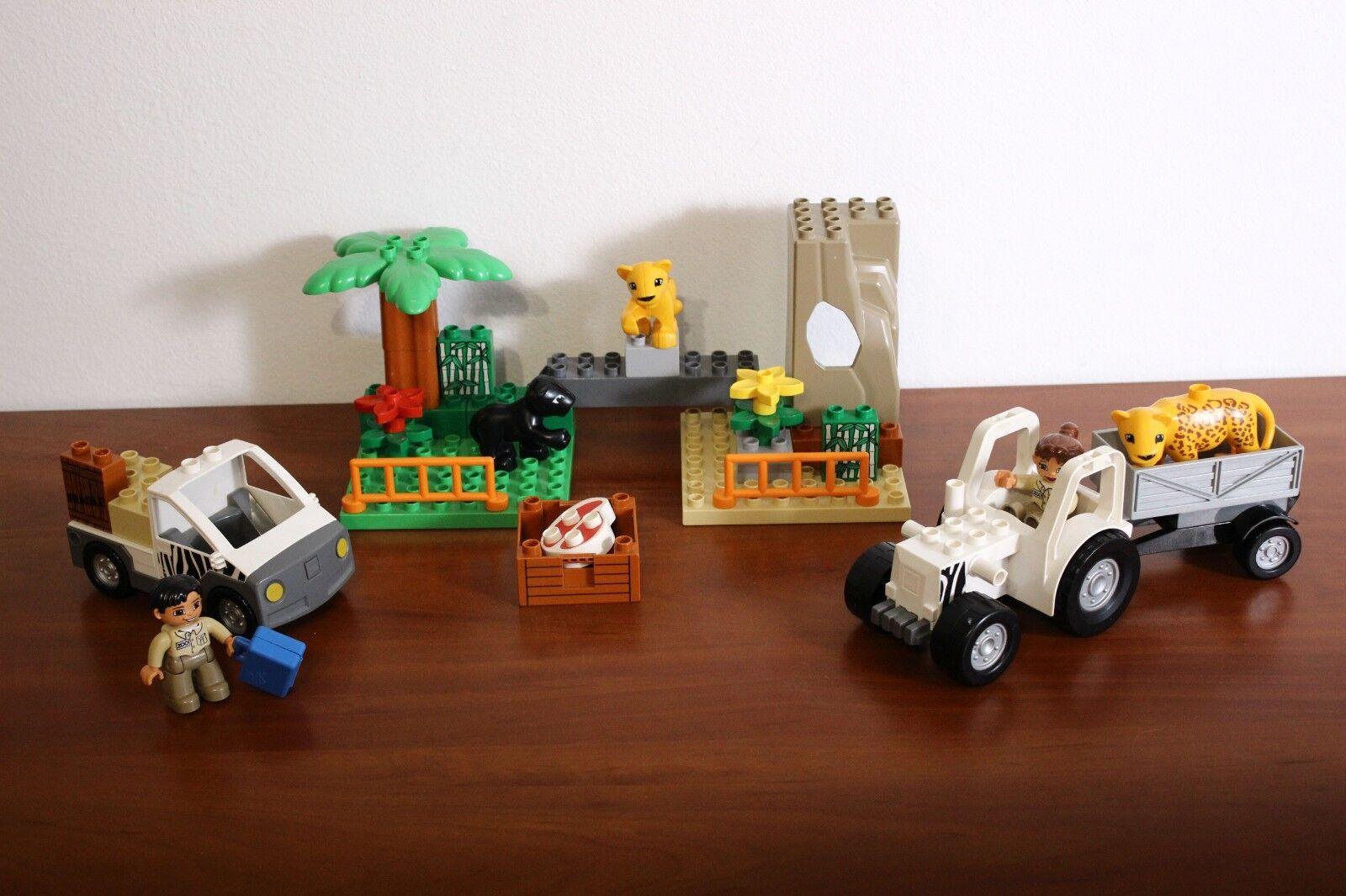 Lego Duplo Town Zoo Set 4971-1 Zoo Vehicles 100%  completare  senza esitazione! acquista ora!