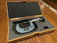 Mitutoyo 103 262 1 2 Outside Micrometer With Case