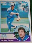 1983 Topps Dave Stieb #130 Baseball Card