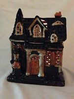 YANKEE CANDLE ~ BONEY BUNCH  ** 2010 **  BONEY MANSION JAR HOLDER