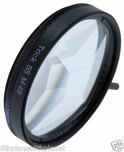 49mm-Camera-Video-5-Face-Circular-Mirage-Lens-Effect-Filter-Quality-Glass