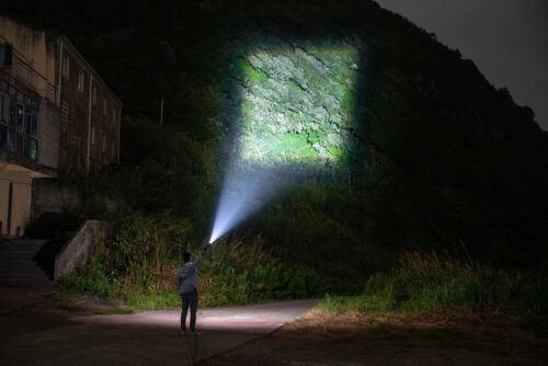 Lampe Torche Poche LED Rechargeable Tactique