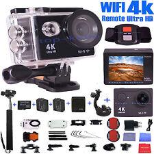 Ultra 4k HD Sports Camera Diving Helmet Ultra DV Wifi Remote Wireless Cycle Cam