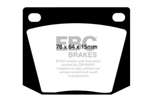 EBC Ultimax Front Brake Pads for Sunbeam Alpine 1.7 65 /> 69