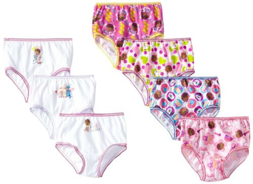 Doc Mcstuffins DISNEY Panties Briefs 7-pack Sizes 2T-3T 4T NEW /& ADORABLE!