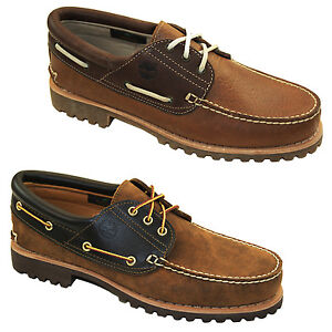 Perfekt Herren Schuhe s Timberland Authenic 3 Eye Black