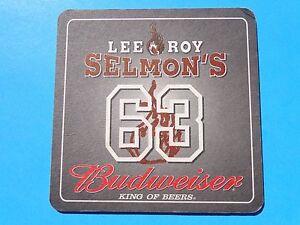Bière Budweiser Barre Dessous De Verre >^< Lee Roy Selmon's Restaurant & Club 63 6rumueak-08004525-145703931