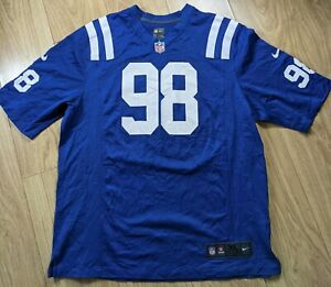 Details about Nike NFL Onfield Jersey Home Indianapolis Colts Robert Mathis #98 XL Fomer DPOY