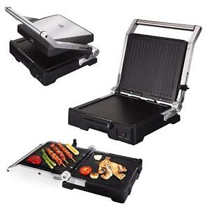Details about Jata GR1100 Grill Pan Electric, 2000 W, Cast Aluminium, Black