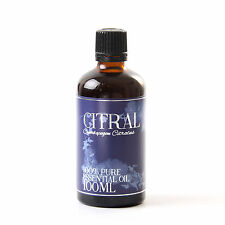 Citral - Essential Oil - 100% Pure - 100ml (EO100CITR)